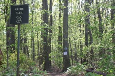 Deere Park Sign Staten Island