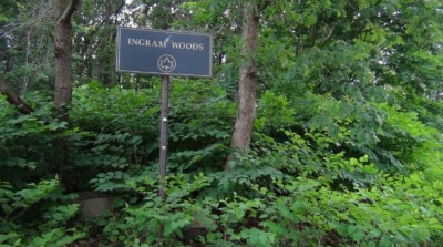 Ingram Woods Sign, Westerleigh Staten Island