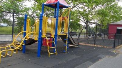 Markham Playground Slide Staten Island, NY